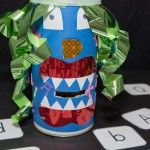Alphabet Monster Game - Kiddos are going to love this!