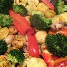 Eat your veggies ...