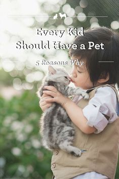 5 Reasons Every Kid Should Have a Pet -- There's a special bond that exists between kids and their pets. Check out these five reasons to nourish this unique and beautiful relationship. Animal Rescue Stories, Adoption Stories, Puppies Tips, Toy Puppies, Pet 5, Pet Dogs, Animals For Kids, Cute Animals, Pet Rabbit