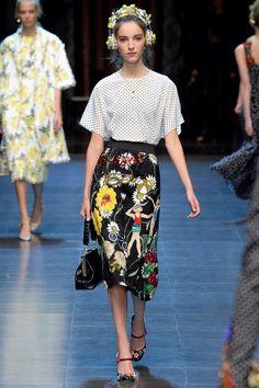 Dolce & Gabbana, Look #5