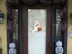 Little Ghost all ready for Halloween by TreesHolidayToday on Etsy