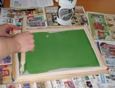 Photo-emulsion Screen Printing : 7 Steps (with Pictures) Screen Printing Equipment, Diy Screen Printing, Screen Printing Process, Digital Printing Machine, Screen Printing Machine, Pvc Fabric, White Image, Art Classroom, Masking Tape
