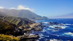 Decided to take the scenic route to Los Angeles and got this shot near Monterey County [OC] (5312x2988)   landscape Nature Photos