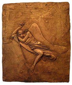 Bruno Lucchesi, Cat Nap, Ed 1/6, 1972, bronze, 9 1/2 X 8 1/4 inches