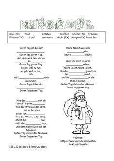 Guten Tag, ich bin der Nikolaus