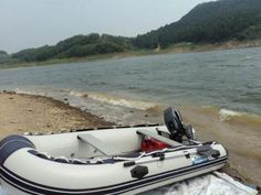 Air Deck Foldable PVC Inflatable Boat , Inflatable Sport Boats
