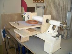 Woodturning Online :: Lathe Mounted Drum Sander