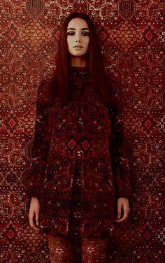 House of Hackney / Mey Meh Carpet Print / H601-4 【4パネル1セット】