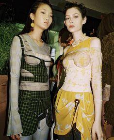 Charlotte Knowles London 90s Fashion, Fashion Art, Runway Fashion, High Fashion, Fashion Show, Fashion Outfits, Womens Fashion, Fashion Design, Mode Inspiration