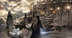 ArtStation - Bloodborne II - Dream Infirmary, Cal Santiago