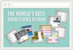 http://dealfuel.com/seller/wp-shortcodes-plugin/  WP shortcodes to spice up your content with just a click of a button. 4 Premium WordPress Themes to add zing to your website