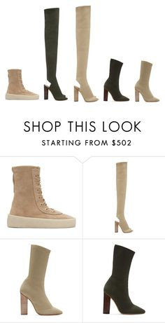 """Yeezy Season 2 at SSENSE"" by ssense ❤ liked on Polyvore"