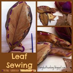 Leaf Sewing!