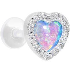 Tragus Piercing Jewelry, Helix Jewelry, Cartilage Ring, Ear Piercings Tragus, Cute Ear Piercings, Cartilage Earrings, Opal Jewelry, Jewlery, Body Piercings