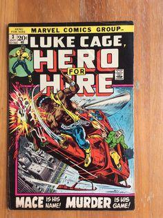 Luke Cage, Hero for Hire Vol 1 #3