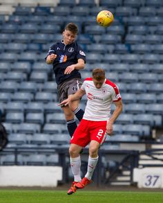 Queen's Park's Ciaran Summer in action during the SPFL League One game between Queen's Park and Raith Rovers.