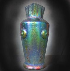 LOETZ IRIDESCENT GLASS VASE