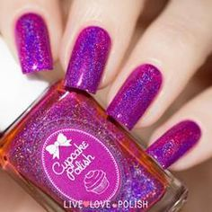 Swatch of Cupcake Polish Time To Fly