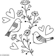 Compra nuestros productos a precios mini Sello de madera Naturaleza - Pájaros en rama con corazones - 5,9 x 5,6 cm - Entrega rápida, gratuita a partir de 89 € !