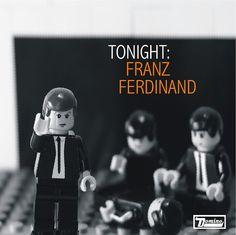 Tonight: Franz Ferdinand, Lego style