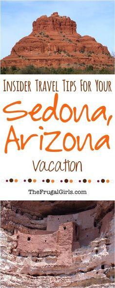 Sedona Arizona Travel Tips from http://TheFrugalGirls.com