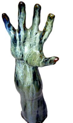 "Saatchi Online Artist: Sharon Vanessa Spackman; Ceramic, 2004, Sculpture ""Protest"""