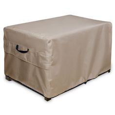 ULTCOVER Patio Deck Box Storage Bench Cover - Waterproof Outdoor Coffee Table Cover and Ottoman Covers 64 x 30 inch ** Check this awesome product by going to the link at the image.-It is an affiliate link to Amazon.
