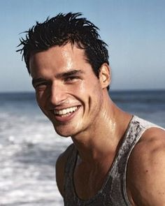 Antonio Sabato Jr. I used to watch him on General Hospital....so dreamy...still looks damn good-Beth