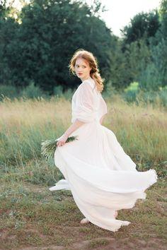 Natural and Organic Morning Bridal Shoot