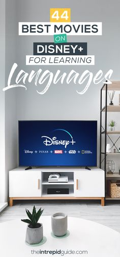 44 Best Movies on Disney Plus for Learning Languages Best Language Learning Apps, Learning Languages Tips, Learn A New Language, Second Language, Learning Resources, Foreign Languages, Teaching Spanish, Learn Spanish, Spanish Class