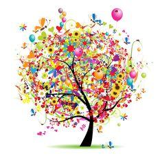 Geburtstags - Baum