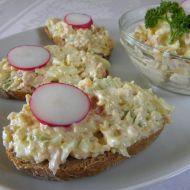 Fotografie receptu: Vajíčková pomazánka s celerem