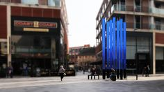 After an invited competition in April we were commissioned by Hammerson plc to 'add vibrancy and relevance' to St Peter's Square, which lies at the heart of the Highcross Shopping Centre.