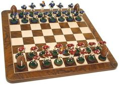 Football Chess Set