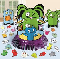 Uglydoll Table Decorating Kit|Fast Shipping|23 piece set