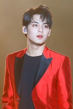 Mingyu ~ how can sweat look so good on him