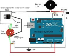 air quality sensor MQ-135 with Arduino