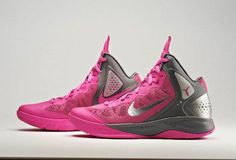 nike basketball shoes for breastcancer