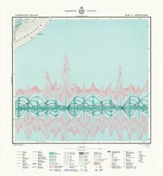 Medallandssandur. Project Info: A blend of the sound specters form sonar and whale song. From a series of drawings, 2010, Norway/Iceland. Design: Torgeir Husevaag    www.guardian.co.uk/news/datablog/2012/mar/16/infographics-data-visualisation-history?CMP=SOCNETIMG8759I