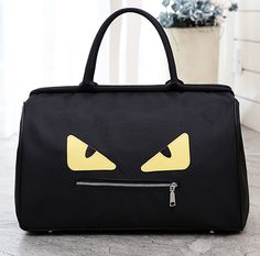2c43e9f5dba5 Large Capacity Portable Shoulder Bags New Luggage Bags Travel Bags Chassis  Personality Monster Patterns Shoulder Bags