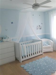 love the 2 tone walls and chair rail...if I have another boy one day I'm doing this