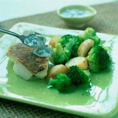 Lemon cod & tarter sauce