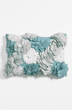 Nordstrom at Home 'Winter Bloomburst' Pillow available at #Nordstrom | #inspiration