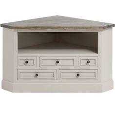 Buy the The Studley Collection Corner Tv Unit on next day delivery from Baytree…