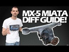 Miata diff differential guide, what to look for when buying diff Miata Mazda Roadster, Mazda Mx, Toy, Link, Toys, Game