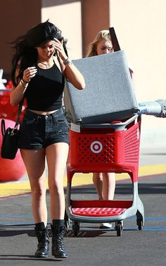 Celeb Diary: Kylie Jenner @ Target in Los Angeles