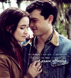 """The moment I saw her, I recognized the snow for what it really was. A peace offering."" Beautiful Creatures, Ethan & Lena."