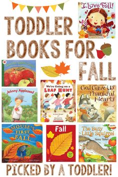 toddler books for fall