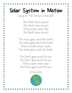 Mrs. Wills Kindergarten: Space Songs