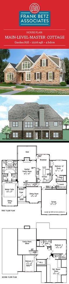 Beaufort 2072 sq ft 4 bdrm Traditional mainlevelmaster house
